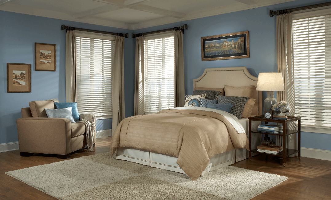 Pinnacle PrivacyPlus Blinds and Select Wood Drapery Hardware