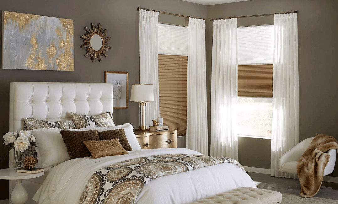 Summerfield Honeycomb Shades and Select Metal Drapery Hardware