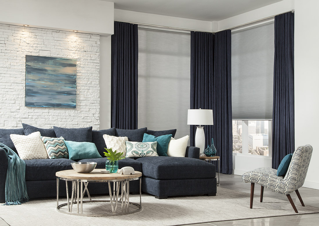 Summerfield Honeycomb Shades and Select Metal Traverse Rods